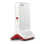 AVM FRITZ!Repeater 6000 wireless router Ethernet Tri-band (2.4 GHz / 5 GHz / 5 GHz) Red, White