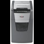 Rexel Optimum AutoFeed+ 150X paper shredder Cross shredding 55 dB 22 cm Black, Silver