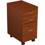 MooreCo iFlex File Cabinet - Cherry