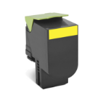Lexmark 70C8XY0 Cartridge 4000pages Yellow laser toner & cartridge