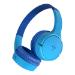 Belkin SOUNDFORM Mini Auriculares Diadema Conector de 3,5 mm MicroUSB Bluetooth Azul