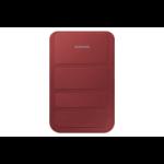 """Samsung EF-ST210B 7"""" Flip case Red"""
