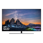 "Samsung QE55Q80RAT 139.7 cm (55"") 4K Ultra HD Smart TV Silver"