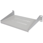 "Intellinet 10"" Cantilever Shelf, 1U, Shelf Depth 150mm, Vented, Grey"
