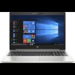 """HP ProBook 450 G6 Notebook 39.6 cm (15.6"""") 1366 x 768 pixels 8th gen Intel® Core™ i3 4 GB DDR4-SDRAM 256 GB SSD Wi-Fi 5 (802.11ac) Windows 10 Pro Silver"""