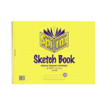 SPIRAX 579 SKETCH BOOK SIDE OPEN 272 X 360MM 16 PAGES