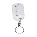 Lupus Electronics 12008 remote control Security system Press buttons