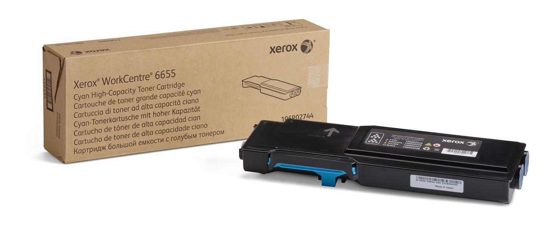 Xerox WorkCentre 6655, cartucho de tóner cián de gran capacidad (7500 páginas)