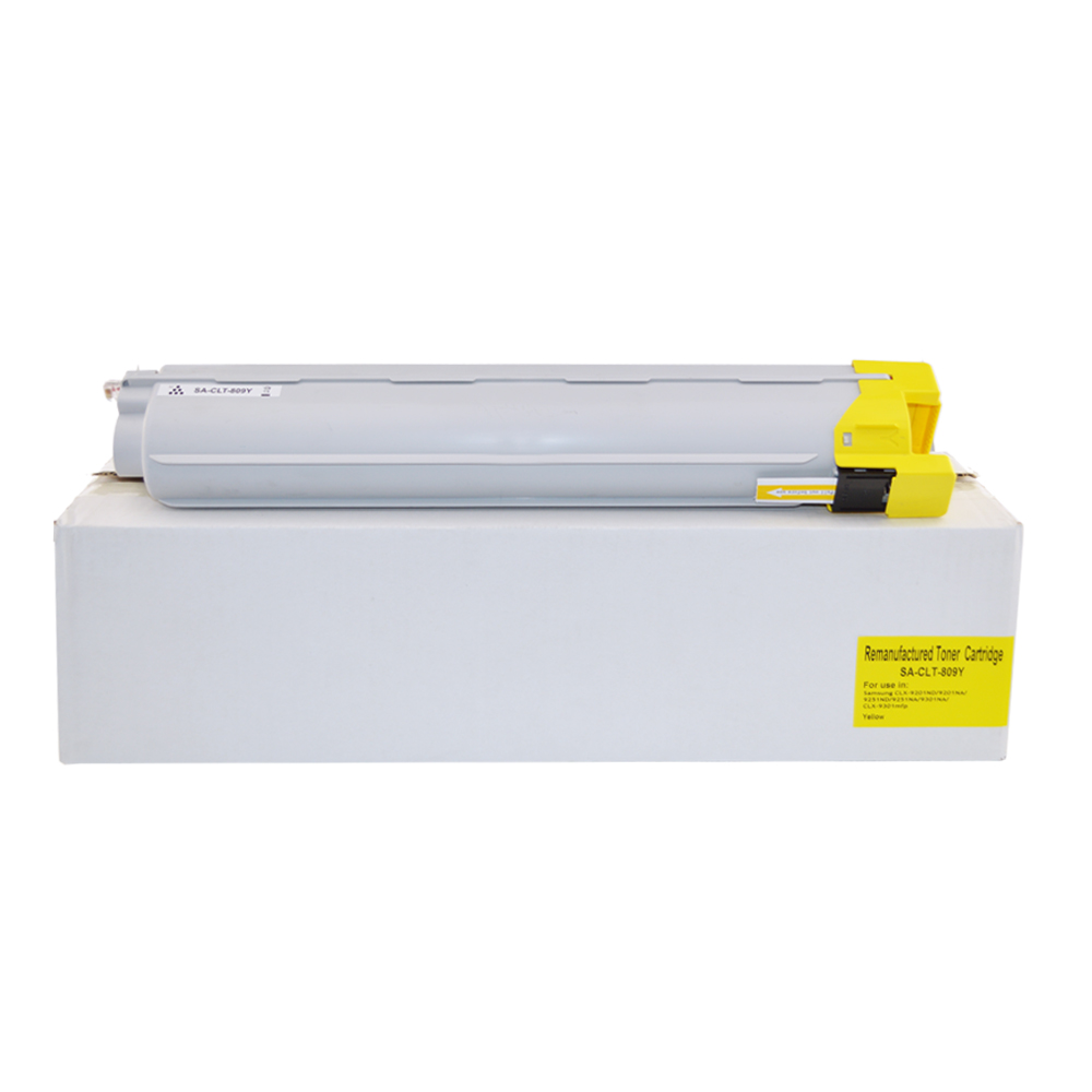 Remanufactured Samsung CLT-Y809S / HP SS742A Yellow Toner Cartridge