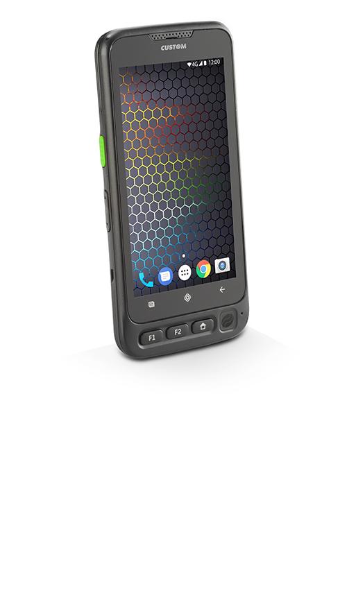 "CUSTOM P-RANGER ordenador móvil industrial 12,7 cm (5"") 1280 x 720 Pixeles 177 g Negro"