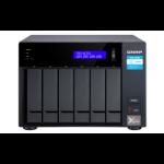 QNAP TVS-672X-I3-8G/12TB-GOLD NAS/storage server Tower Ethernet LAN Black i3-8100T