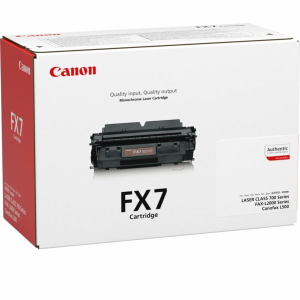 Canon 7621A002 (FX-7) Toner black, 4.5K pages