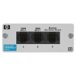 Hewlett Packard Enterprise 2-port ISDN BRI S/T Ethernet LAN network management device