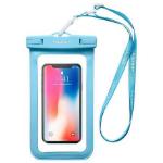 Spigen Velo А600 mobiele telefoon behuizingen Hoes Cyaan, Transparant