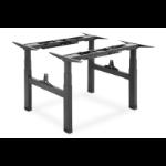 Digitus DA-90393 standing desk frame Electric 4 leg(s) Black