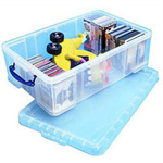 REALUSE REALLY USEFUL 50L BOX CLEAR KING50C