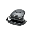Rexel Precision 225 2 Hole Punch Black/Black