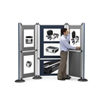 Nobo Modular Display System - Upright and Base