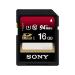 Sony 16GB SFUX Series SD Memory Card