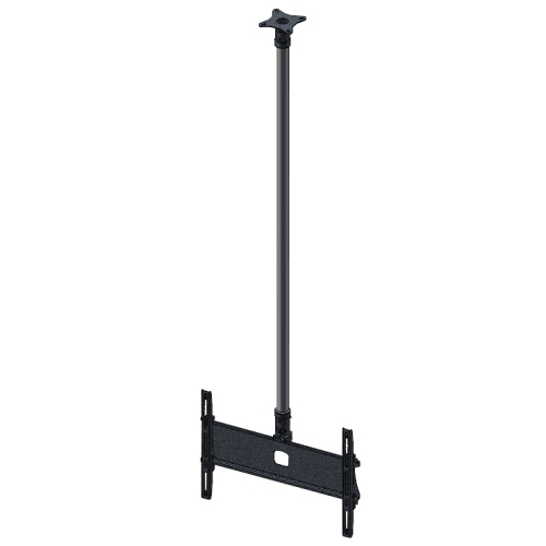 Unicol KP120CB Black,Silver flat panel ceiling mount