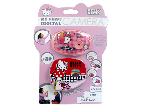 Hello Kitty My First Digital Camera with 1.1 Inch LCD (HEC008L)