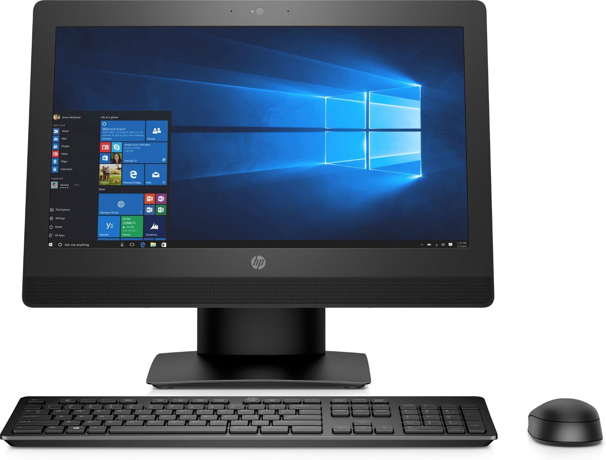 HP ProOne 400 G3 Aio 2KL21EA# ABU Core i5-7500 4GB 256GB SSD