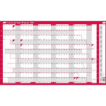 Sasco 2410128 wall planner Pink,White 2021
