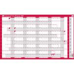 Sasco 2410128 wall planner Pink,White 2021