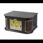 Technaxx TX-103 Belt-drive audio turntable Black, Gold