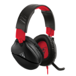 Turtle Beach Recon 70N Gaming Headset for Nintendo Switch, PS5, PS4, Xbox, PC - Black & Red