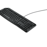 Logitech K120 keyboard USB QWERTY International North Sea Black