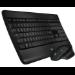 Logitech MX900 teclado Bluetooth QWERTY Internacional de EE.UU. Negro