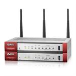 ZyXEL ZyWALL USG 20W-VPN Ethernet LAN Grey,Red
