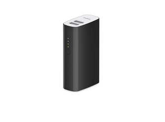 Belkin 4,000 mAh Portable Dual USB Universal Rechargeable Battery Pack for Apple iPhone, iPad, iPod, Samsung Galaxy and Smartphones/Tablets Black