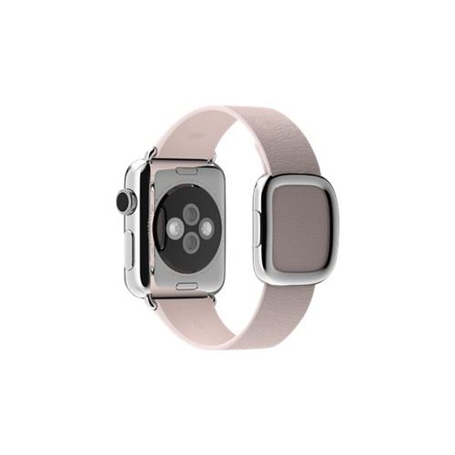 Apple 38mm Modern Buckle - Small - watch strap - soft pink - for Watch (38 mm)