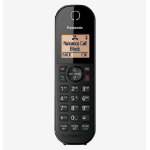 Panasonic KX-TGC412EB telephone DECT telephone Caller ID Black