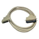 Cables Direct IE-202 2m White parallel cable