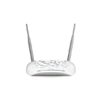TP-LINK TD-W8968 Fast Ethernet White wireless router