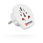 Microconnect PETRAVEL15 Universal Universal White power plug adapter