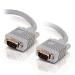 C2G 15m Monitor HD15 M/M cable cable VGA VGA (D-Sub) Gris