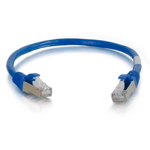 C2G Cat6a SSTP 10m networking cable Blue S/FTP (S-STP)