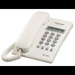 Panasonic KX-T7703 Analog telephone Identificador de llamadas Blanco teléfono dir