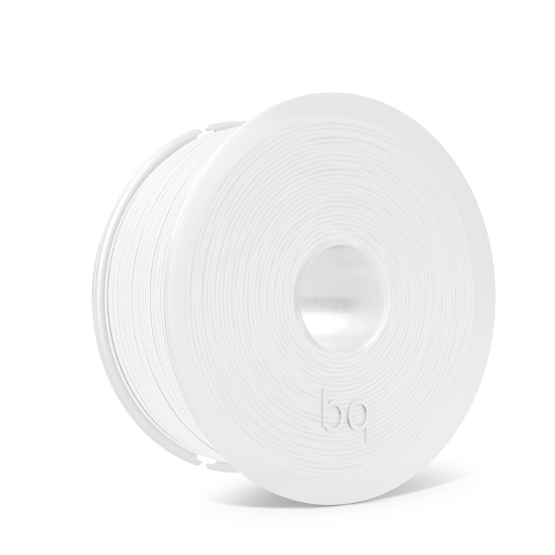 PLA bq 1,75mm Pure White 1Kg for BQ 3D Printers and all printers that use 1.75mm filament