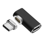Microconnect USB3.1CCMF-MAGNETIC USB graphics adapter Black, Silver