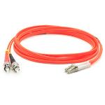 "Add-On Computer Peripherals (ACP) 3m, ST - LC fiber optic cable 118.1"" (3 m) OM2 Orange"