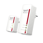 FRITZ! Powerline 540E WLAN Set International 500 Mbit/s Ethernet LAN Wi-Fi Wit 2 stuk(s)