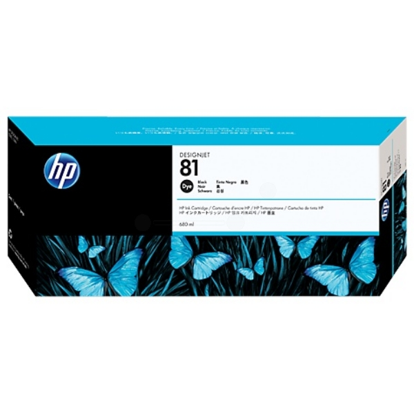 HP C4930A (81) Ink cartridge black, 680ml