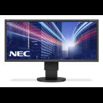 "NEC MultiSync EA294WMi 29"" IPS Black computer monitor"