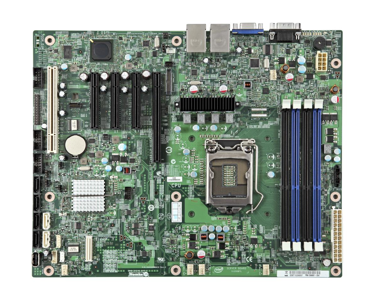 Intel Server Board S1200BTLRM - Motherboard - ATX - LGA1155 Socket - C204 - 2 x Gigabit LAN - onboard grap