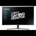 """Samsung C27HG70QQU 68.3 cm (26.9"""") 2560 x 1440 pixels Quad HD LED Blue, Grey"""